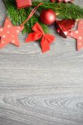 Christmas holiday message background prepared to add winter season greeting Stock Photos
