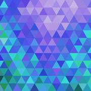 Abstract geometric triangle background Stock Illustration