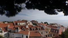 Thief Breaking Into House In Lisbon, Portugal Stock Footage