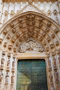 Sevilla also called Seville Cathedral in Andalusia of spain Stock Photos