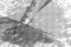 Grunge halftone paint strokes background Stock Illustration