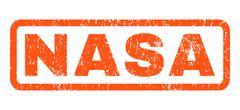 Nasa Rubber Stamp Stock Illustration