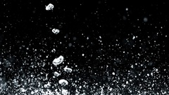 Drops And Splashes Of Water In Slow Motion - 20 Stock Footage