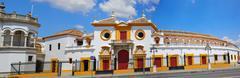 Seville Real Maestranza bullring plaza toros de Sevilla Stock Photos