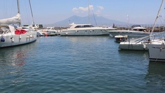 Yacht Club in Napoli Stock Footage