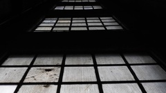 Abstract View of Elevator Shaft Windows Stock Video Arkistovideo