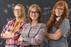 Girls power at technical university Kuvituskuvat