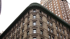 Classic Old NYC Building Stock Footage