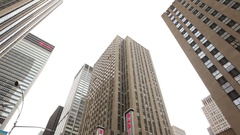 Radio City Music Hall In New York City Stock Footage