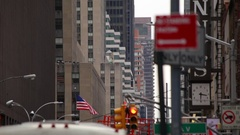 Classic New York City Street Stock Footage
