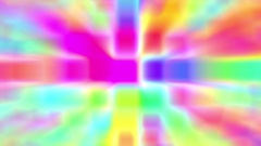 Disco Squares Colorful Glow Psychedelic Abstract VJ Motion Background Loop 1 Stock Footage