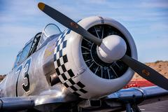 Warbird Close Up Stock Photos