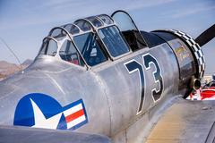 T-4 World War II Era Warplane Stock Photos