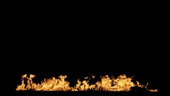 Fire animation (large) Stock Footage