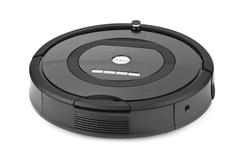 Robotic vacuum cleaner Stock Photos