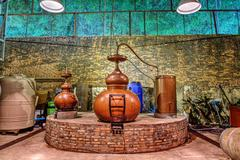 Place where the rum is brewed Stock Photos