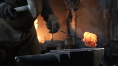 Antique Blacksmith Shop Stock Footage