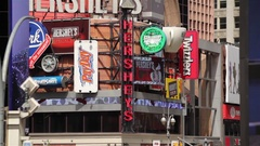 Hersheys Candy Store In NYC Stock Footage