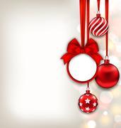 Happy New Year Background with Celebration Card Stock Illustration