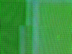 Close up of TV screen Stock Footage