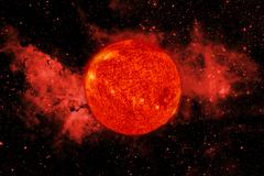 Solar System. Sun. Elements of this image furnished by NASA Stock Photos