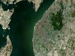 4K Earth Zoom: Lisbon – Portugal Stock Footage
