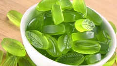 Lime Jelly (4K UHD footage; not loopable) Stock Footage