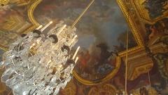 Versailles Mirror Room Stock Footage