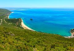 Nature Park of Arrabida, Portugal. Stock Photos