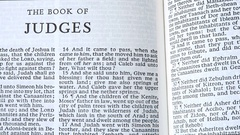 The Book Of Judges Stock Footage