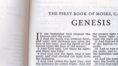 The First Book Of Moses, Genesis Stock Footage
