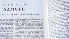 The First Book Of Samuel Stock Footage