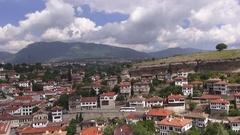 View of Safranbolu Stock Footage