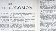 The Song Of Solomon Stock Footage