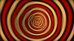 Psychedelic Tunnel 70's Vj Loop Stock Footage