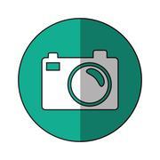 Isolated camera device design Stock Illustration