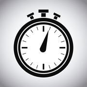 Chronometer of Healthy lifestyle design Stock Illustration