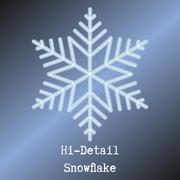 A snow flake Stock Illustration
