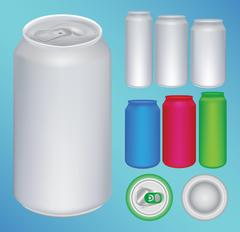 A can vector Stock Illustration