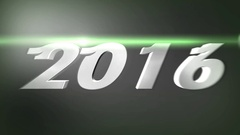 2016 - Animated logo. Stock Footage