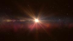 Universe color galaxy Stock Footage