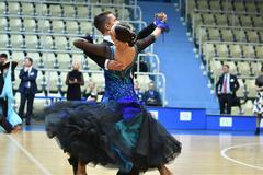 Orenburg, Russia - 12 November 2016: Girl and boy dancing. Stock Photos