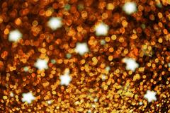 Abstract twinkled bright background with bokeh defocused lights Stock Photos
