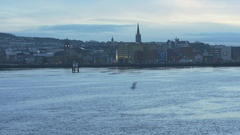 City of Derry / Londonderry Stock Footage