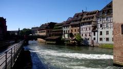 Strassburg Petite France Stock Footage
