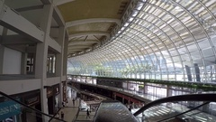 Marina Bay Sands Mall, Singapore Stock Footage