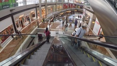 Marina Bay Sands Mall, Singapore, South Asia, Asia Stock Footage