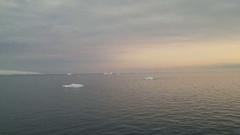 Sunrise over Brabant Island, Gerlache Strait, Antarctica Stock Footage
