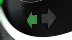 Dash light INDICATOR  EX Stock Footage