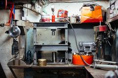 Repair workshop Stock Photos